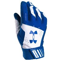 アンダーアーマー メンズ 野球 グローブ【Under Armour Yard Batting Gloves】Royal/White/Royal