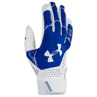 アンダーアーマー レディース 野球 グローブ【Under Armour Motive Fastpitch Batting Gloves】Royal/White