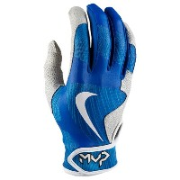ナイキ メンズ 野球 グローブ【Nike MVP Pro Batting Gloves】Light Photo Blue/White/Game Royal