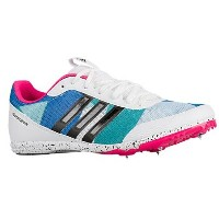 アディダス レディース 陸上 シューズ・靴【adidas DistanceStar】Core Black/Footwear White/Shock Pink