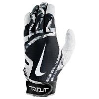 ナイキ メンズ 野球 グローブ【Nike Trout Edge Batting Gloves】White/Black/White