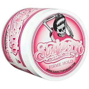 SUAVECITO スアベシート 【Suavecito X Breast Cancer Solutions - Firme Hold Pomade】 水性ポマード ストロングホールド 4OZ...