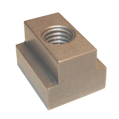 Morton Stainless Steel T-Slot Nuts, Inch Size, 1/4-20 Thread Size, 5/16 Table Slot, 11/64 Base...
