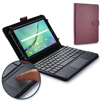 Acer Iconia Tab 8, Tab 8 W キーボード ケース COOPER TOUCHPAD EXECUTIVE 2-in-1 ワイヤレス Bluetooth キーボード マウス レザー...