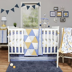 Stargazer 4 Piece Baby Bedding Set by The Peanut Shell by The Peanut Shell
