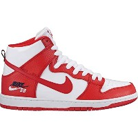 NIKE SB(ナイキエスビー )ZOOM DUNK HIGH PRO ズームダンクハイプロ UNIVERSITY RED/UNIVERSITY RED-WHITE 661RED 240cm