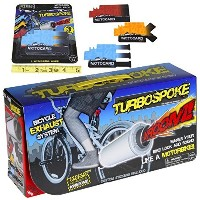 TurboSpoke Bicycle Exhaust System Add-On Accessory _ with BONUS MotoCard Refill _ Bundle by...