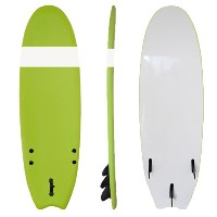 Funktion ソフトボード サーフボード 6'0 フィッシュ GREEN (フルセット)SOFT-600-GRN-FT-WS-S