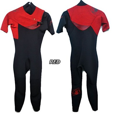 BODYGLOVE (ボディーグローブ) WET SUITS PRIME MENS シーガル 2015モデル (RED, L)