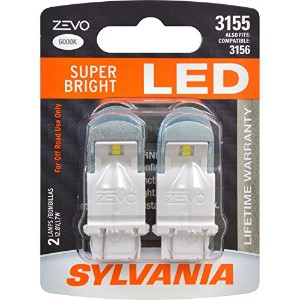SYLVANIA ZEVO 3155 White LED Bulb (Pack of 2) [並行輸入品]