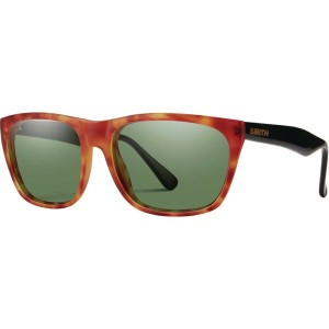 スミス メンズ メガネ・サングラス【Tioga Sunglasses - ChromaPop Polarized】Matte Honey Tort/Black/Polarized Gray Green