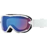 スミス レディース スキー・スノーボード ゴーグル【Virtue ChromaPop Goggles】White Mosaic/Chromapop Storm Rose Flash