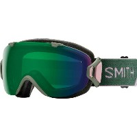 スミス メンズ スキー・スノーボード ゴーグル【I/OS Chromapop Goggles with Bonus Lens】Patina Split/Chromapop Sun Green...
