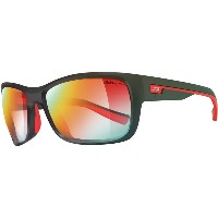 ジュルボ メンズ スポーツサングラス【Drift Zebra Photochromic Sunglasses】Matte Black-Red/Zebra Light Fire