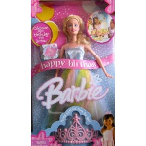 Happy Birthday Barbie(バービー) Doll w Birthday Tiara For You! (2005) ドール 人形 フィギュア