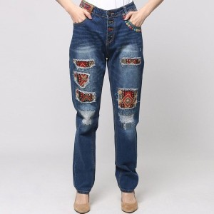 【SALE 50%OFF】デシグアル Desigual DENIM_EXOTIC (DENIM MEDIUM WASH)
