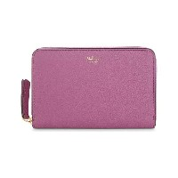 マルベリー レディース 財布【grained leather medium zip-around wallet】Orchid