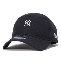 (ニューエラ) NEW ERA 9TWENTY MINI LOGO NEW YORK YANKEES NAVY MELTON [並行輸入品]