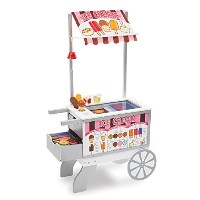 Snacks & Sweets Food Cart: Play House - Kitchens & Play Sets