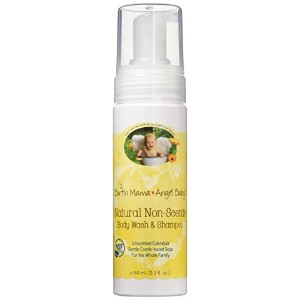 海外直送品Natural Non-Scents Shampoo and Body Wash, 5.3 OZ by Earth Mama Angel Baby