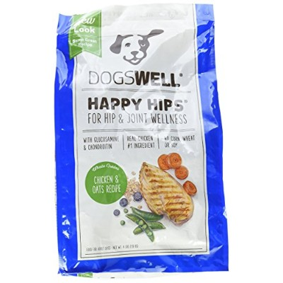 Dogswell Natural Healthy Happy Hips Chicken Oat Recipe Pet Food for Dogs 4lbs