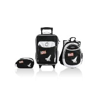 Obersee Little Kids Luggage Set, Space by Obersee
