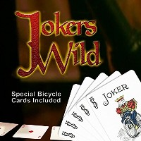 [マジック メーカー]Magic Makers Jokers Wild Card Trick Special Bicycle Trick Cards Included 6630 [並行輸入品]