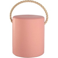 TONNE・ROPE KIDS STOOL  & SIDE TABLE  シガラキ トン・ロープ 陶製 キッズ用スツール(&サイドテーブル) (ピンク)