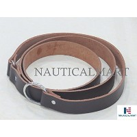 Classic Tawny Medieval Leather Belt By Nauticalmart [並行輸入品]