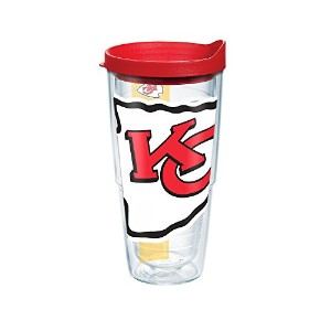 Tervis NFLラップ個々Tumbler with Lid 24-Ounce クリア 1100088
