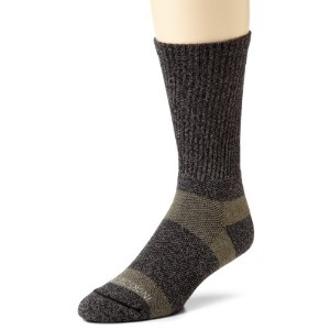 Incredisocks Bamboo Charcoal Hiker/ Work Socks Medium Grey/Green by Incredisocks