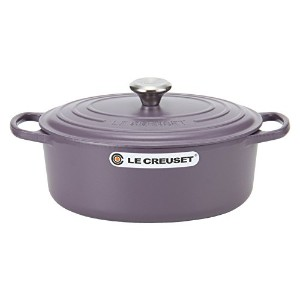 Le Creuset ルクルーゼ SIGNATURE シグニチャー Cocotte Ovale 29 cm ココットオーバル Amethyst アメジスト 両手鍋 [並行輸入品]