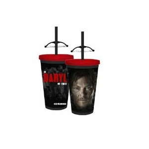 Walking Dead CrossbowタンブラーCarnival Cup with Crossbow on Straw by Justファンキー
