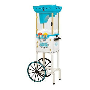 Nostalgia SCC399 48-Inch Tall Vintage Collection Snow Cone Cart by Nostalgia