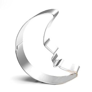 GXHUANG Crescent Moon Sugar Cookie Cutter–ステンレススチール