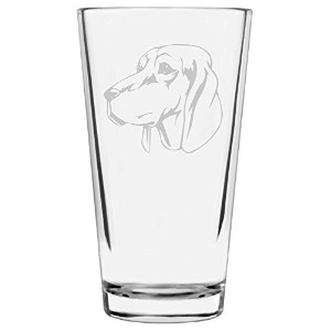 犬テーマEtchedすべて目的16oz Libbey Pint Glass R 5139