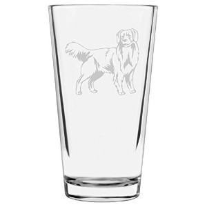 犬テーマEtchedすべて目的16oz Libbey Pint Glass N 5139