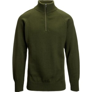 ダックワース メンズ ニット&セーター アウター Duckworth Field Master Quarter Zip Sweater - Men's Military Green