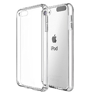 【CEAVIS】 iPod Touch 6 ケース iPod Touch 5 TPUケース 落下防止 ソフトケース クリアTPU シリコンケース (touch 6, クリア)