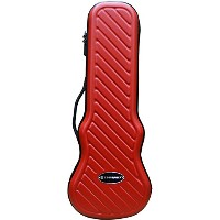 CROSSROCK ( クロスロック ) CRA400CU RD / Ukulele Case ABS Hard Shell Zippered コンサートウクレレ用 軽量型ABSキャリングケース...