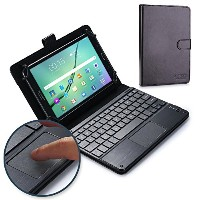 Nvidia Shield Tablet キーボード ケース COOPER TOUCHPAD EXECUTIVE 2-in-1 ワイヤレス Bluetooth キーボード マウス レザー トラベル...