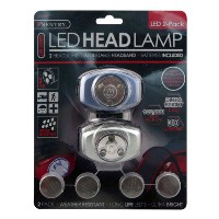 3-LED Headlamps, Set of 2 by Sentry