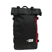 YAKPAK ヤックパック バッグ リュック YP2021NS RUCKSACK デイバッグ バックパック 男女兼用 全4カラー ag-897500 (4:YP2021NS-BLK/LED)