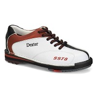 Dexter Womens SST 8LE Bowling shoes-ホワイト/レッド/ブラック