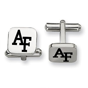 US Air Force Academy FalconsステンレススチールSquare Cufflinks