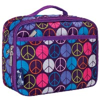 Wildkin Peace Signs Purple Lunch Box by Wildkin
