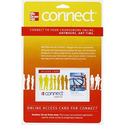 Connect Access Card for Human Genetics