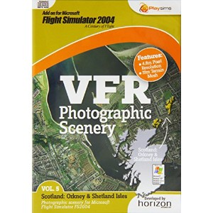 VFR Photographic Scenery - Volume 5 Scotland: Orkney and Shetland Isles FS2004 (PC DVD) (輸入版)