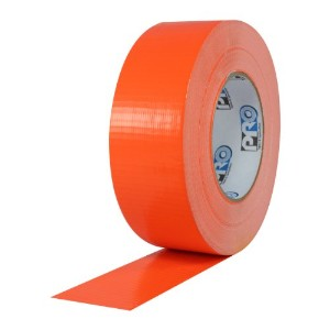 ProTapes Pro Duct 139 PE-Coated Cloth Fluorescent Specialty Grade Duct Tape, 60 yds Length x 3...