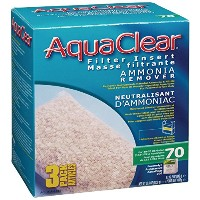 Aquaclear 70-Gallon Ammonia Remover 3-Pack 36.6oz [並行輸入品]